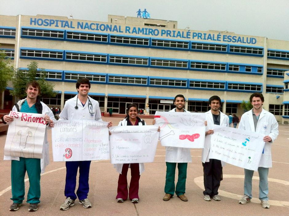 Medical Students in Peru