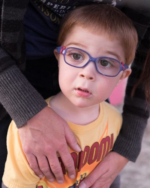Joseph Hann was about 3½ years old when his vision started to fail, and he was increasingly bumping into things.