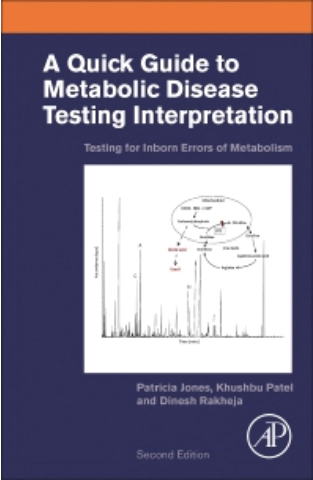 "The second edition of ""A Quick Guide to Organic Acid Interpretation: Testing for Inborn Errors of Metabolism"" is now in print!"