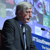 NIH Director touts UTSW research successes during town hall address