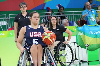 Good as gold: Paralympian inspires pursuit of adaptive sports