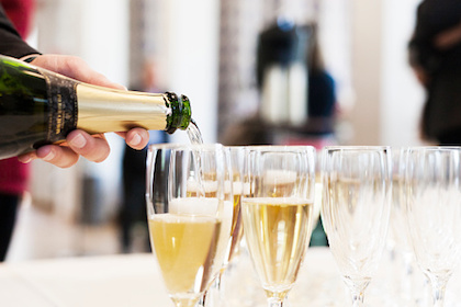 Champagne: Uncork with care