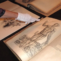 Library offers view of medical rarities