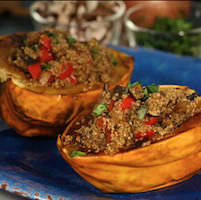 Recipe: Stuffed acorn squash