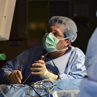 Skull base surgeons help pioneer method of extracting tumors from ear canal