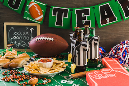 Tips for tackling your diet at Super Bowl parties