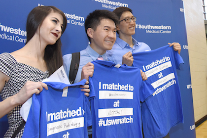Match Day celebration fulfills students' dreams, with an anniversary twist