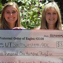 Mother-Daughter team raises thousands for Alzheimer's research