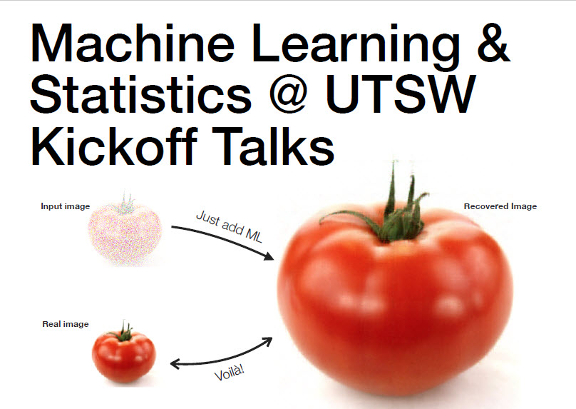 Machine Learning & Statistics Interest Group Kickoff Talks, Aug. 21-22, 2017