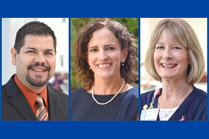 Three UTSW employees win Regents' Outstanding Employee Awards
