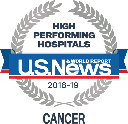 US News 2018 Regional Hospitals - High Performing in Cancer