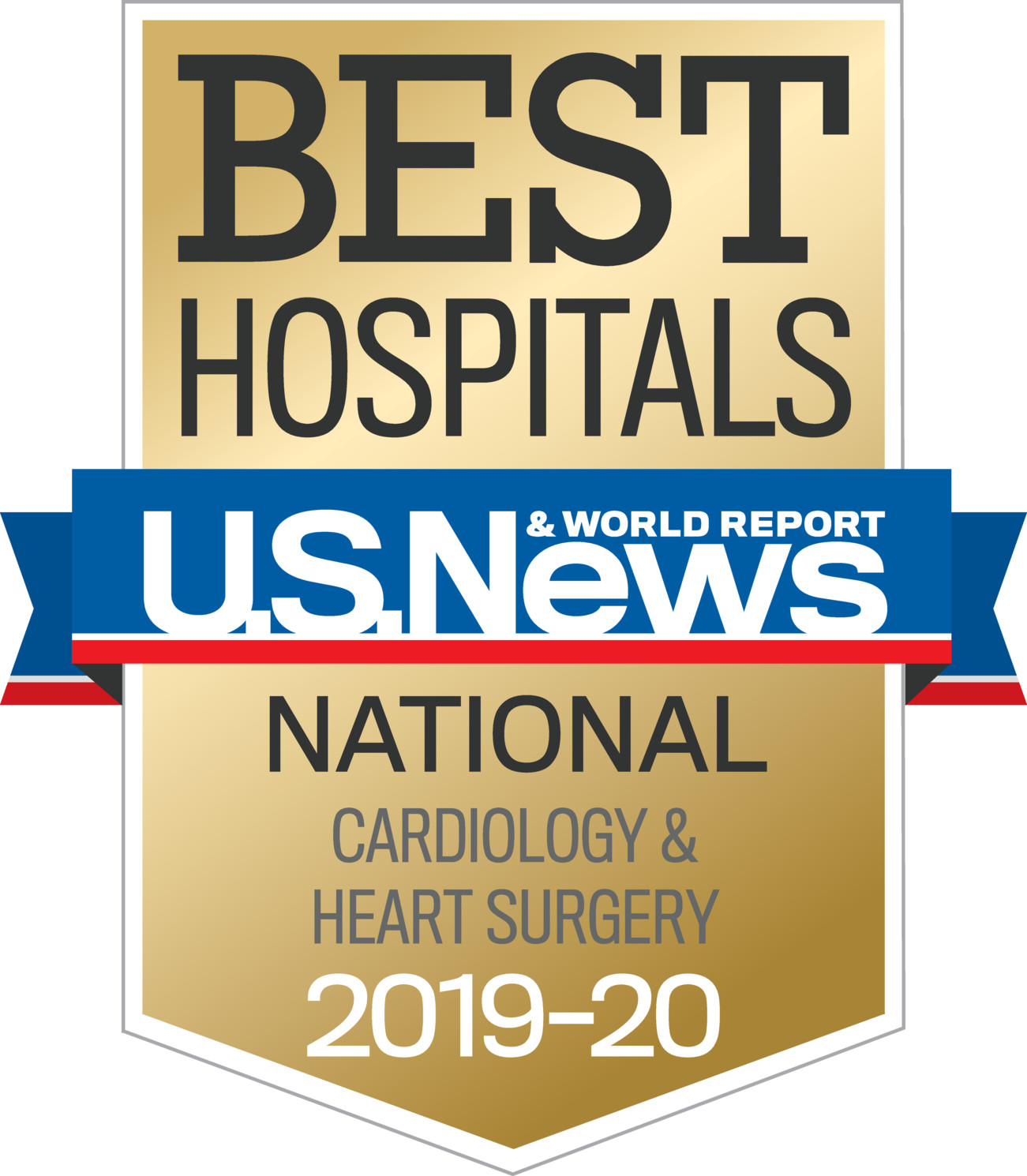 U.S. News 2019 Best Hospital - Cardiology