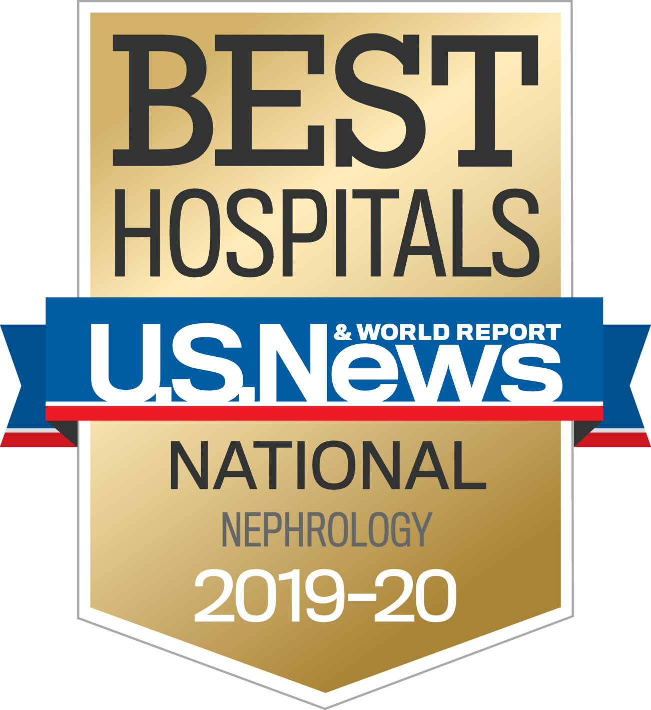 US News 2019 Nationally Ranked in Nephrology