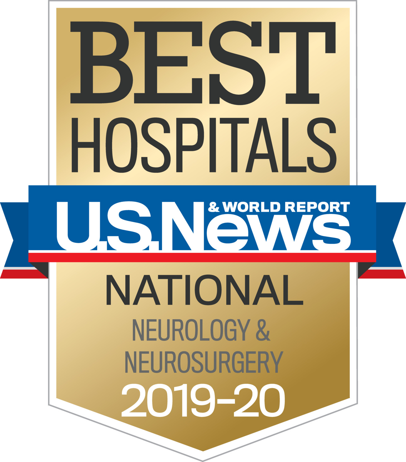 US News 2019 Nationally Ranked in Neurology and Neurosurgery