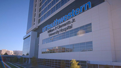 Building that reads UT Southwestern