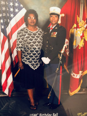 Jamila Moore (right), Marine Corps<br />Acute Care Surgery at William P. Clements Jr. University Hospital