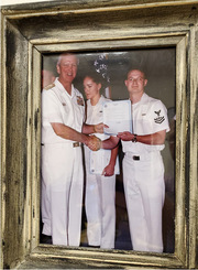 Dennis Smith (right), Navy<br />Patient Access