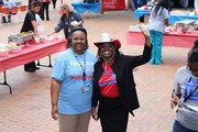 Troyce Coles and DeWotta Gossett. Ms. Gossett is Chair of the Dallas Fort Worth Local Employee Committee for the SECC.