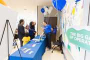 Attendees had the opportunity to sign up for the medIDEAS family festival coming Feb. 8 at UTSW Frisco.
