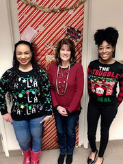 Laila Cooper – The Employee Assistance Program (EAP) team is all smiles this season.