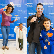 "Both parents and children had the opportunity to ""play"" medical professionals for the day at the photo booth and other event stations."