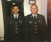 Todd Young (left), Army<br />Procurement