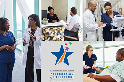 Collage of UTSW clinical employees