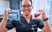 Noel Beboso, B.S.N., RN, CCRN, Surgical Intensive Care Unit: It's really rewarding when you see your patient doing well after their liver transplant, coming to visit you at work from home, and appreciating every effort you made for them. Love it! It warms my heart. And he brings us cookies with UTSW decor on it. #NursesWeek #utswnursesrock