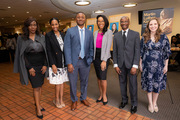 Staff of the Office of Institutional Equity and Access who helped organize the event included (from left) Caroline Uhara, Erin Dowell, Assistant Vice President of Institutional Equity & Access Travis Gill, Keneshia Colwell, Thomas Bennett, and Kayla Ratcliff.