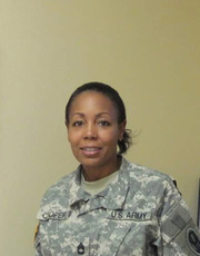 Sherri Wood Cooper, Army<br />Manager, Volunteer Services