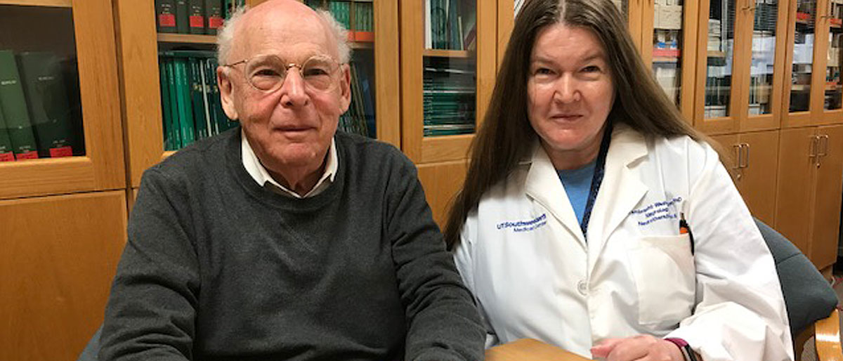 Drs. Roger Rosenberg and Doris Lambracht-Washington