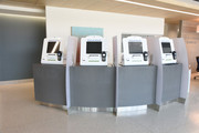 Patient kiosks in West Campus Building 3