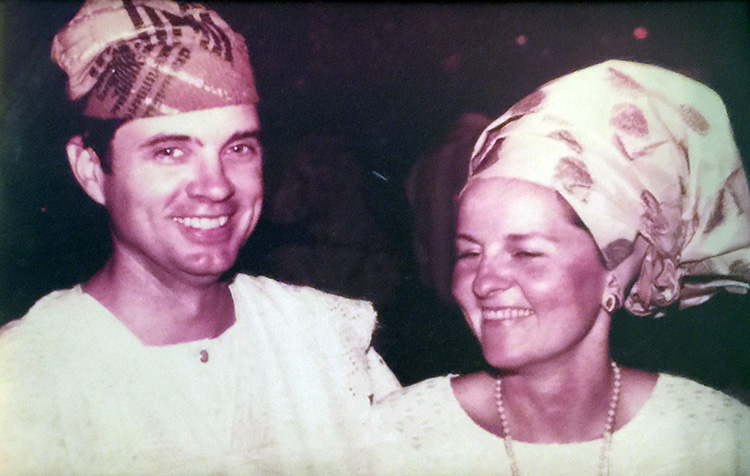 Dr. and Mrs. Meier in Nigeria