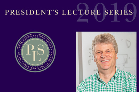 President's Lecture Series 2019, photo of Dr. Gaudenz Danuser