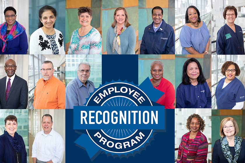 Collage of ERP Recognized employees