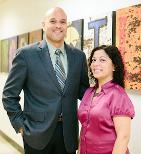 Drs. Norberto Rodriguez-Baez and Meghana Sathe