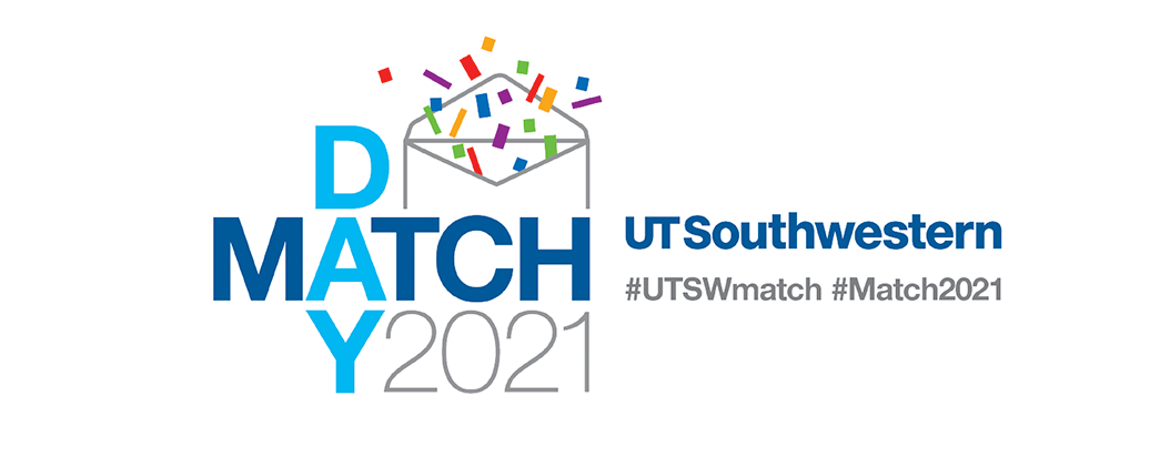 Match Day 2021 UT Southwestern hashtag UTSWmatch