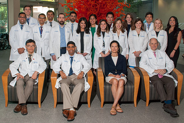 photo of the Hematology and Oncology Fellowship program participants