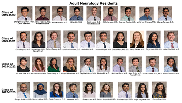 Neurology: Current Residents - UT Southwestern, Dallas, Texas