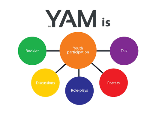Youth Aware of Mental Health, YAM, is an interactive program for adolescents
