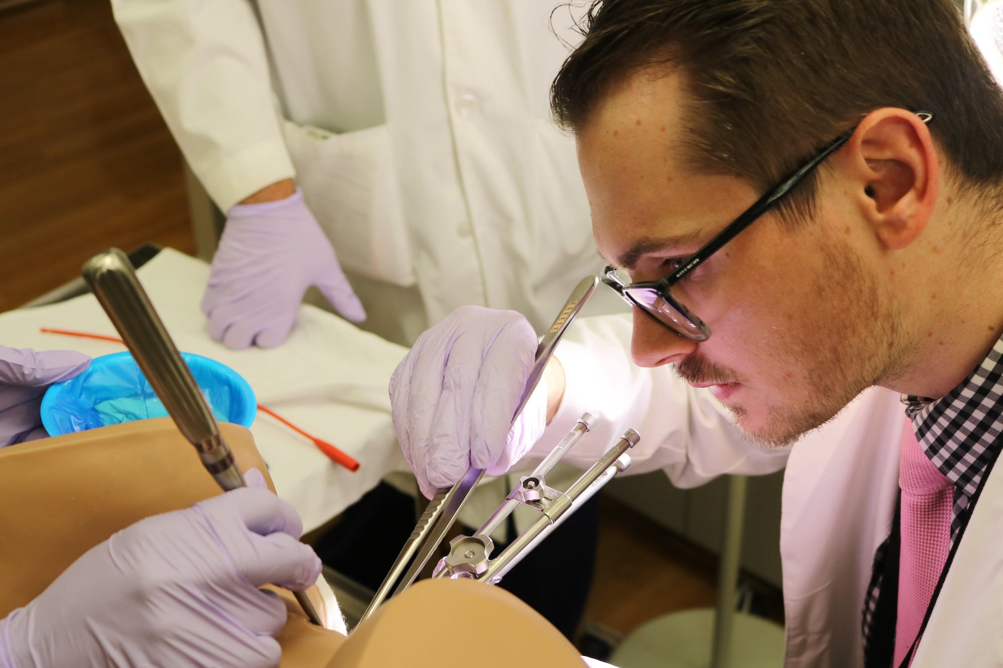 Resident training in gynecologic brachytherapy