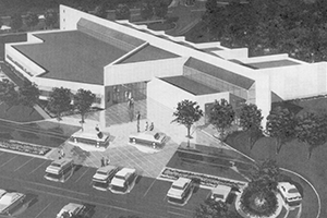 Mary Neil and Ralph B. Rogers Magnetic Resonance Center Rendering