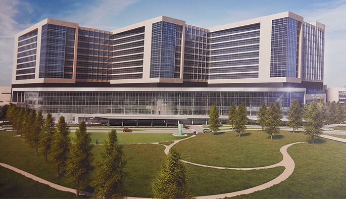 William P. Clements Jr. University Hospital