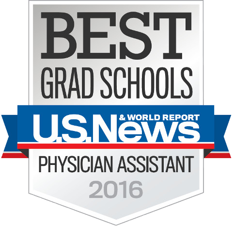 Badge: Best Grad Schools, Physician Assistant, 2012 - U.S. News & World Report