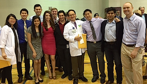 Residents in UTSW's Physical Medicine & Rehabilitation Residency Program