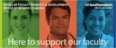 Faculty Diversity & Development and Women's Careers graphic