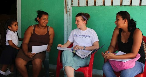 Family chat, Nicaragua