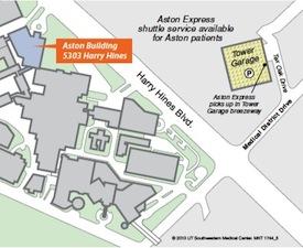Parkland Campus Map.Tower Garage Parking Ut Southwestern Dallas Tx