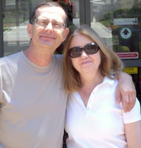 Dr. Roger Mendelson and his wife, Shirley