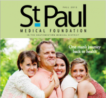 2015 St. Paul Medical Foundation magazine cover